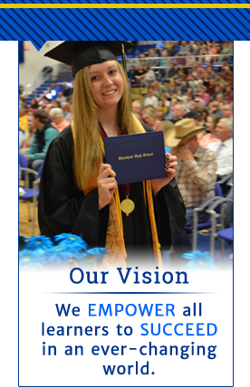 Our Vision - We EMPOWER all learners to SUCCEED in an ever-changing world.