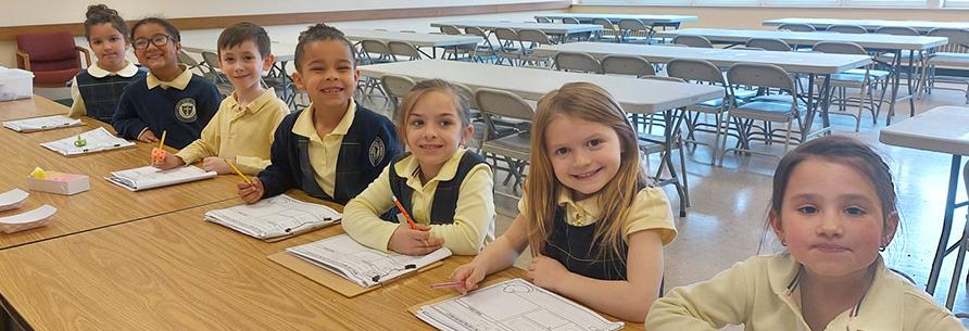 students wearing headbands