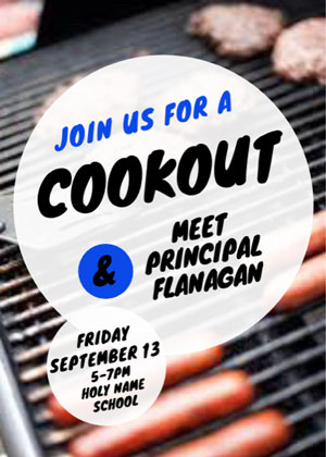 Join us for a cookout