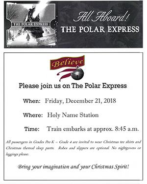 All Aboard!  The Polar Express
