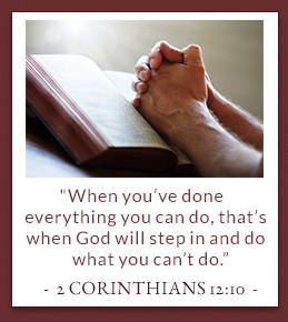 2nd Corinthians 12:10