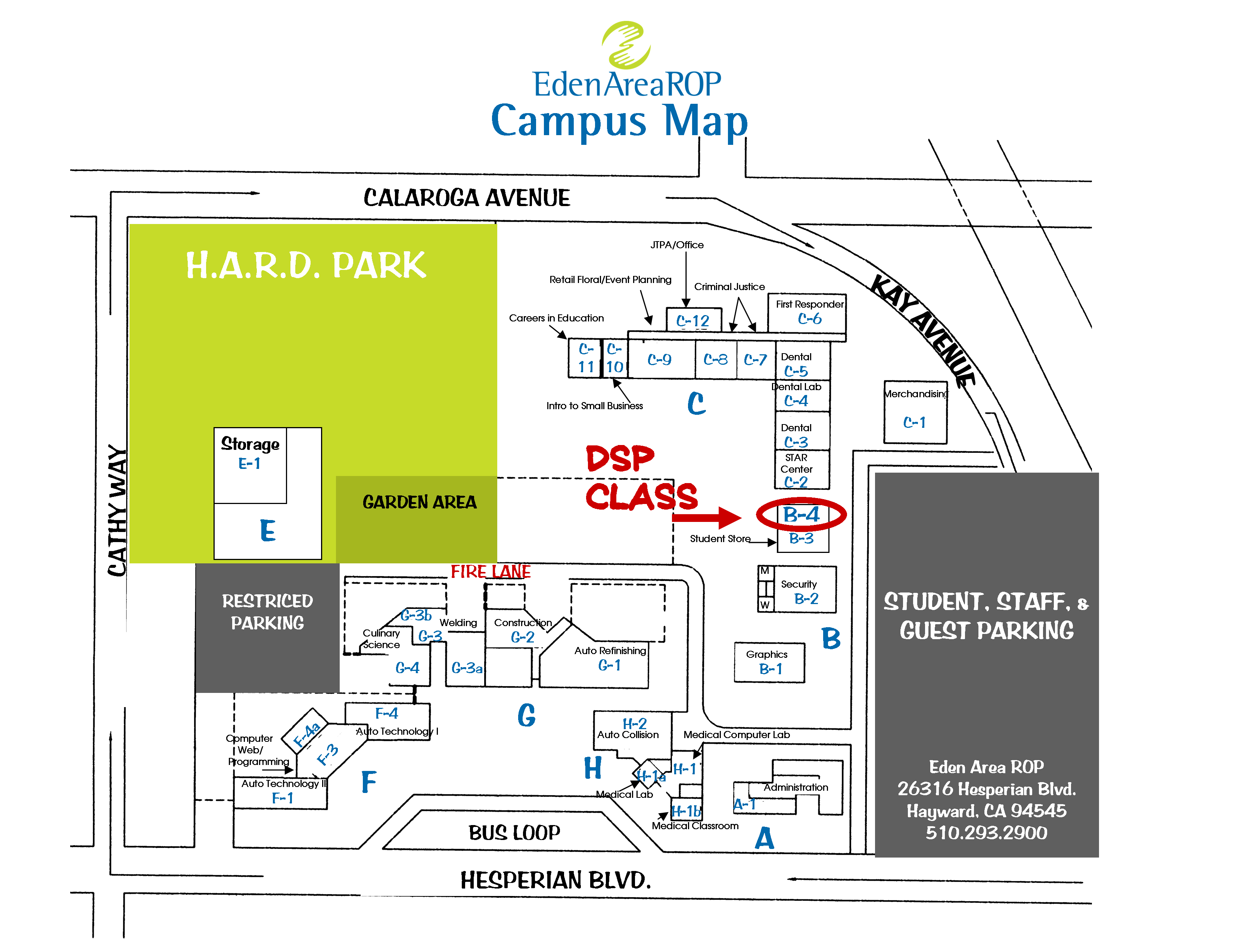 Campus Map - DSP Class, room B-4