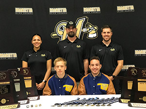 Cross Country team members sign letter of intent