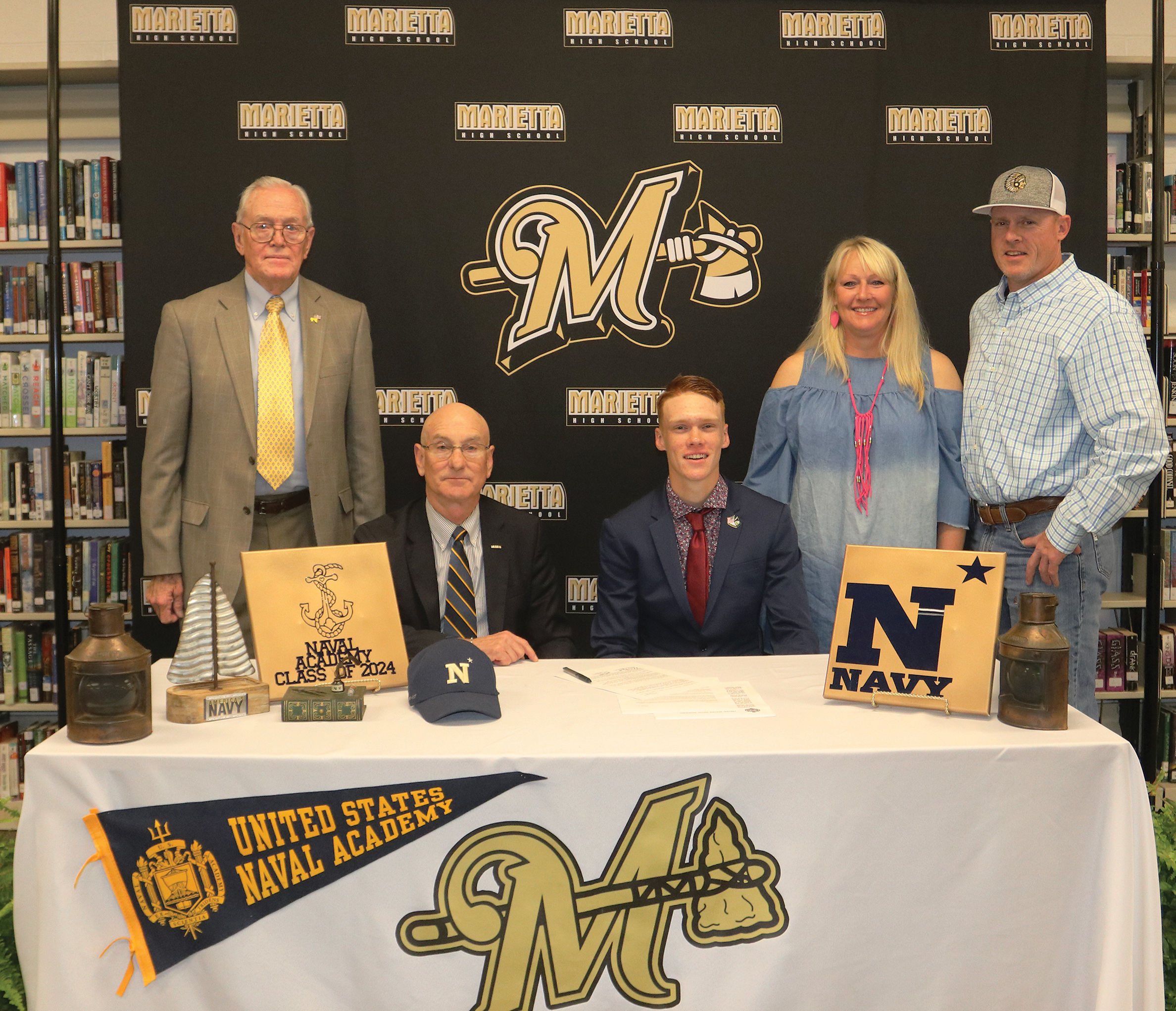 Stewart Signs with Naval Academy