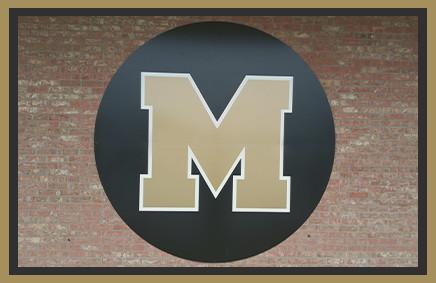 Marietta school initial logo