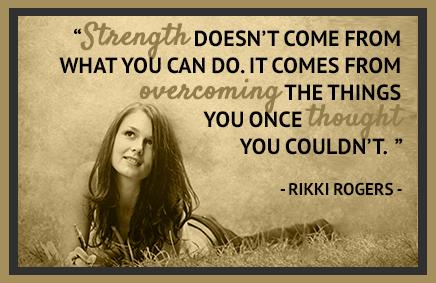 Rikki Rogers Quote
