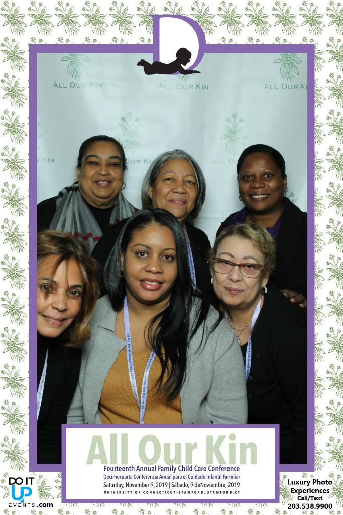 Staff at 14th Annual Family Child Care Conference