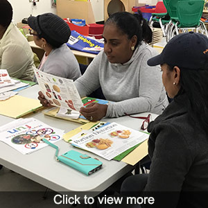 More photos of the Eat Well Play Hard program
