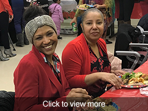 photos from the Family Child Care Center holiday season