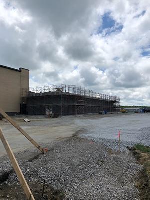 Wrestling Facility progress