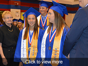 Click to view more photos of our recent high school graduates