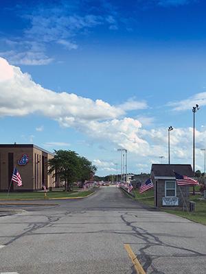 Jennings County High School Building Entrance