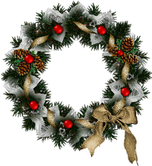 pretty Holiday wreath