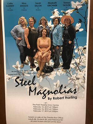 Steel Magnolias flyer