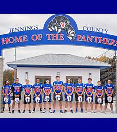 Jennings High School senior football players