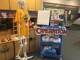 Operation - Kindergarten classroom