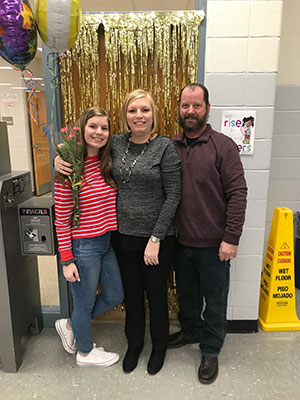 Missy Davidson nominated Teacher of the Year