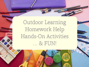 Outdoor learning, homework help, hands-on activities,... and FUN!