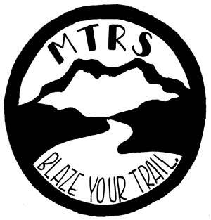 MTRS Blaze Your Trail logo