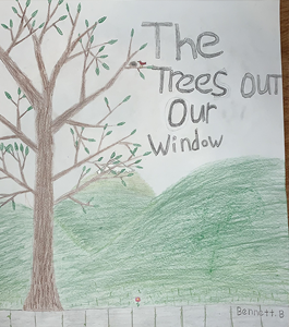 The Trees Out Our Window student illustration