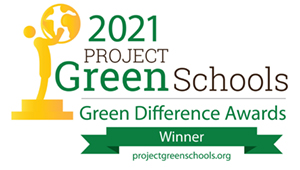 2021 project green schools green difference awards winner