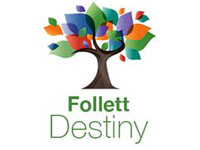Website for Follett Destiny Online Library
