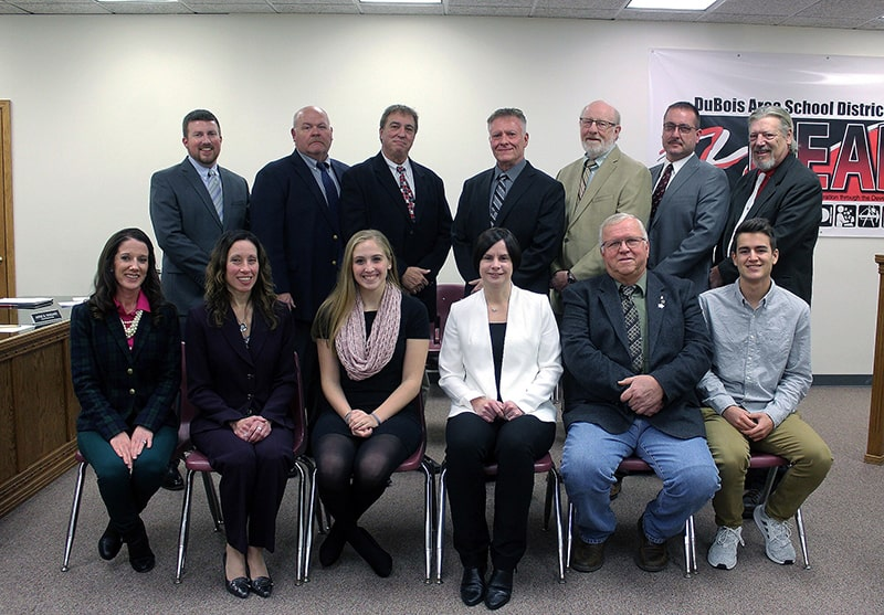 DuBois Area School District Board of Directors