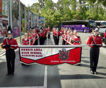 DuBois Area High School Marching Band