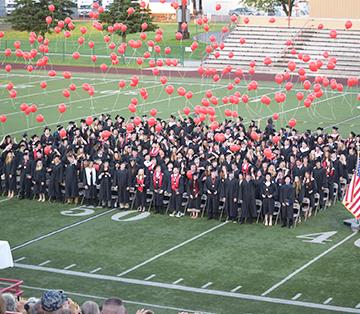 DAHS Class of 2018 celebrates graduation.