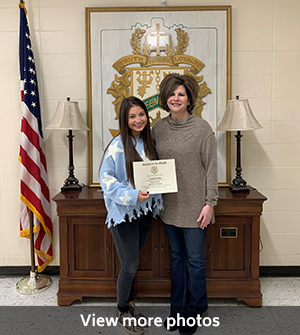 Click to view photos of Rotary Students of The Month