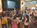 Students participate in an activity together