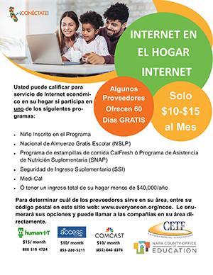 Conectate! Internet en el hogar internet