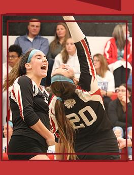 Spirited Conemaugh cheerleader