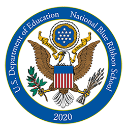 U.S. Department of Education National Blue Ribbon School 2020 seal