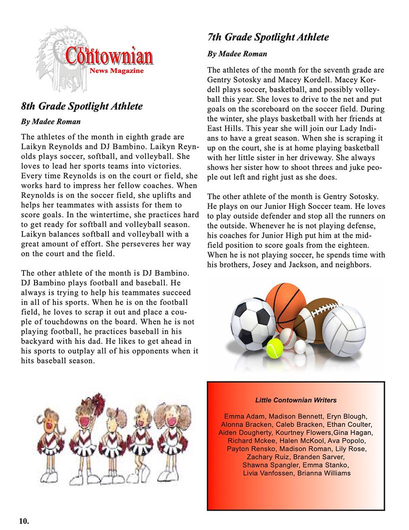 Contownian Newsletter Magazine - page 10