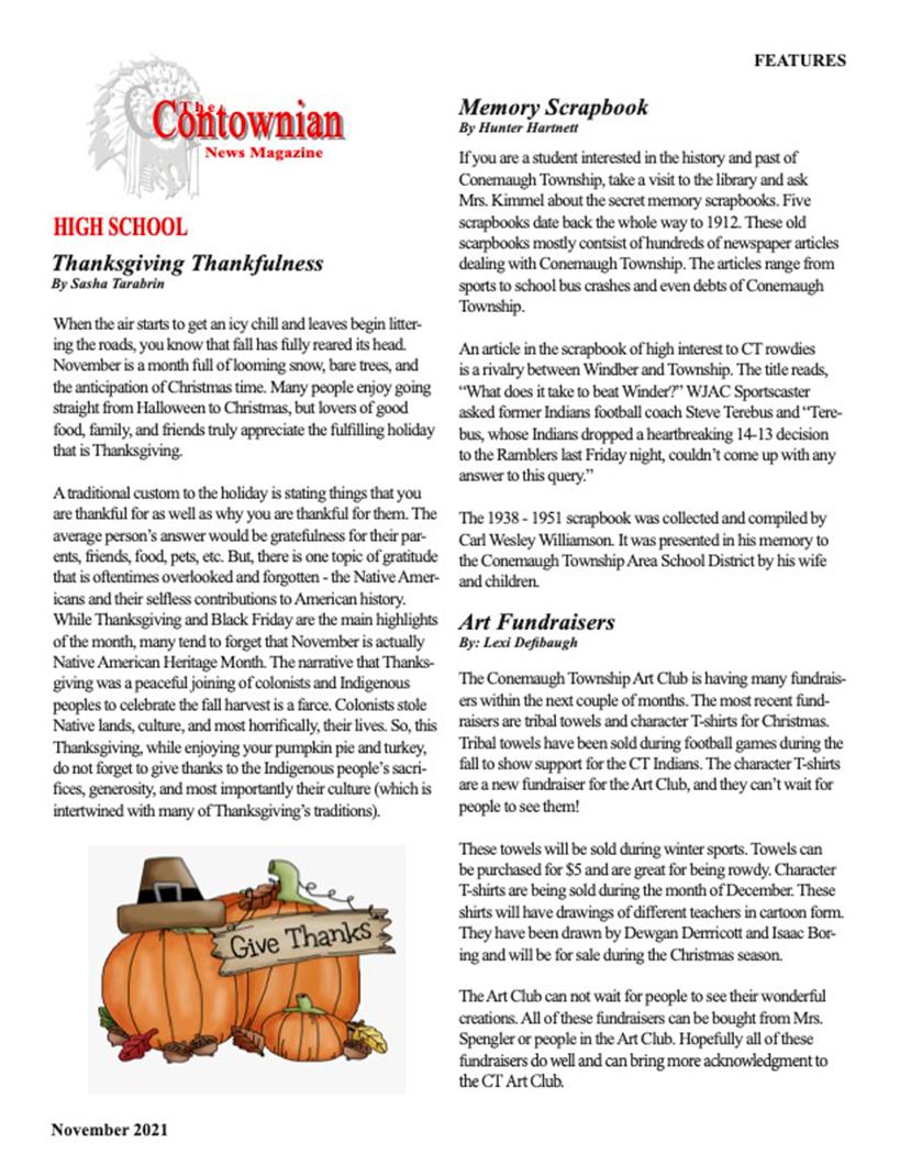 Contownian Newsletter Magazine - page 4
