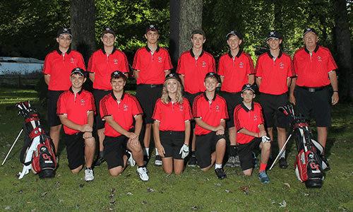 2016-2017 Golf team