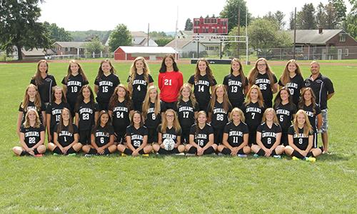 2016-2017 Varsity Girls Soccer team