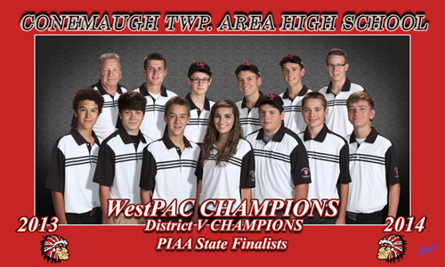 Conemaugh TWP. Area High School 2013-2014 WestPAC Champions District V Champions PIAA State Finalists