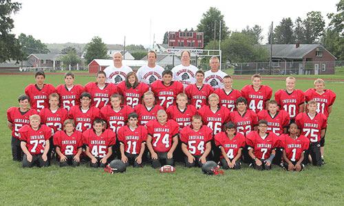 2016-2017 Junior High Football team