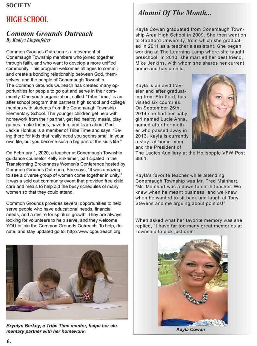Contownian Newsletter Magazine - page 5