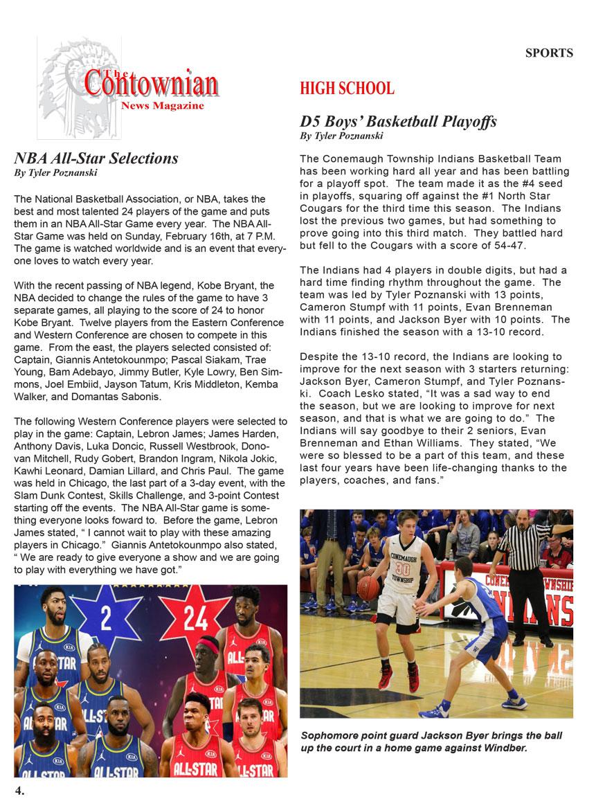 Contownian Newsletter Magazine - page 6