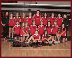 JV Volleyball team