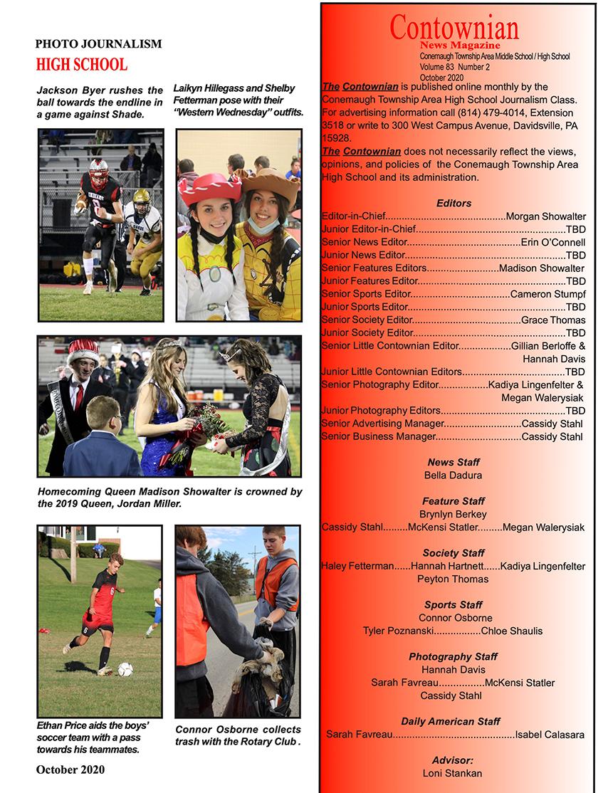 Contownian Newsletter Magazine - page 3
