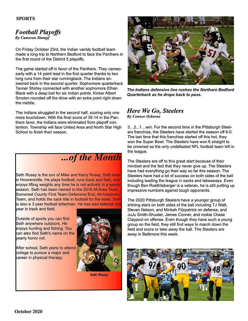 Contownian Newsletter Magazine - page 7