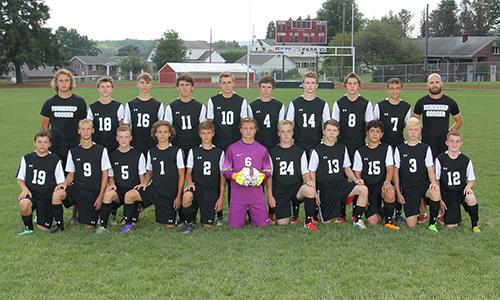 2016-2017 Varsity Boys Soccer team