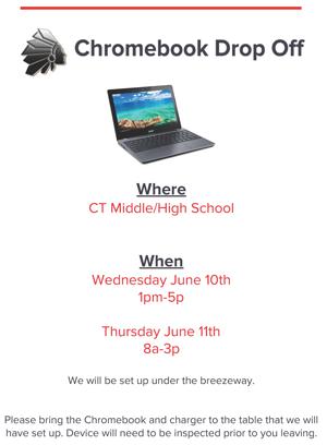 Chromebook Dropoff Flyer