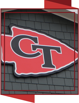 CT arrowhead logo