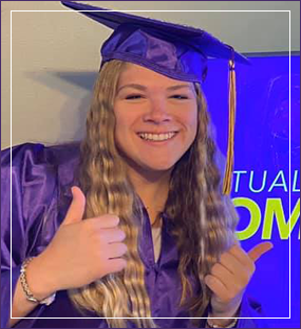 two diplomas