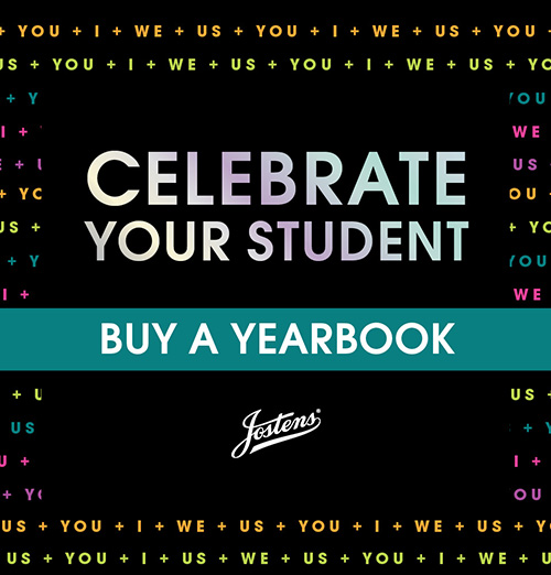 Celebrate Your Student Buy a Yearbook from Jostens